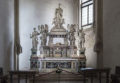 Santa Giustina (Padua) - Right nave – Cappella di sant'Urio