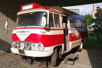 Mitsubishi Fuso Rosa - Image: Sapporo municipal bus mini bus