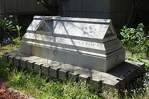 Thomas Starr King - Sarcophagus of Thomas Starr King in San Francisco