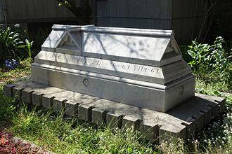 Thomas Starr King - Sarcophagus of Thomas Starr King in San Francisco