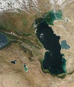 Satellite image of the Caucasus-Caspian Region.jpg