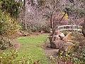 Sayen Park Botanical Garden - Japanese bridge.JPG
