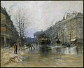 Scène de rue parisienne par Frank Boggs.jpg