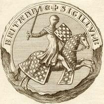 Sceau de Jean I - Duc de Bretagne.png