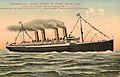Schnelldampfer KAISER WILHELM DER GROSSE. Kolorierte Postkarte um 1910.jpg
