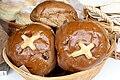 Scottish hot cross buns in basket.jpg
