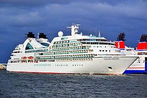 Seabourn Cruise Line - Image: Seabourn Sojourn (4)