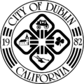 Seal of Dublin, California.png