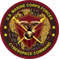 Seal of the United States Marine Corps Forces Cyberspace Command.png