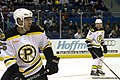 Sean Zimmerman and Jeremy Reich - Providence Bruins 1152011.jpg