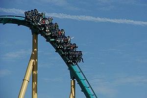 Kraken (roller coaster) - Image: Seaworld Orlando Kraken 1629