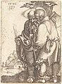 Sebald Beham, Bartholomew and Matthias, 1520, NGA 4402.jpg