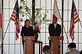 Secretary Clinton and Japanese Foreign Minister Matsumonto Address the Press (5629282229).jpg