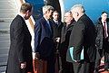 Secretary Kerry Chats With U.S. Ambassador Tefft and Russian Officials Upon His Arrival to Moscow for Meetings With Russian President Putin and Foreign Minister Lavrov (25981134846).jpg