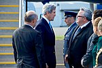 Secretary Kerry Speaks With New Zealand Defense Minister Gerry Brownlee at the Christchurch International Airport (30874168765).jpg