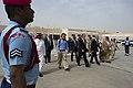 Secretary of Defense Chuck Hagel walks with Prince Fahd bin Abdullah, Deputy Minister of Defense, and U.S. Ambassador to the Kingdom of Saudi Arabia Jim Smith, before departing Riyadh, Saudi Arabia, April 24, 2013.jpg