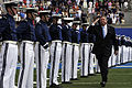 Secretary of the Air Force Michael B. Donley enters the U.S. Air Force Academy's Falcon Stadium for the Class of 2013 Commencement Ceremony in Colorado Springs, Colo., May 29, 2013, where 1,024 graduates were 130529-F-ZJ145-121.jpg