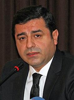 Selahattin Demirtaş Turkish Kurdish politician