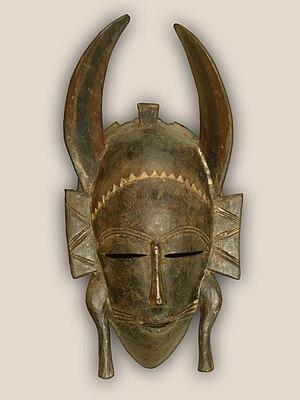 300px Senufo mask hg Como fazer máscaras africanas