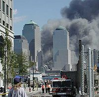 In the immediate aftermath of the September 11, 2001 attacks many people were evacuated by ferry to Jersey City