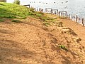 Serious erosion at the Eastern end of Barden Lake, Haysden Country Park - geograph.org.uk - 1051130.jpg