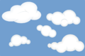 Set of soft clouds.png