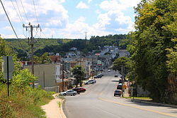 Streets in Shamokin, Pennsylvania