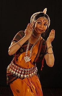 Sharmila Mukerjee Indian dancer.