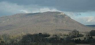 Knob Mountain - Image: Short Mtn VA