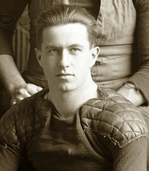1911 Michigan Wolverines football team - Quarterback Shorty McMillan