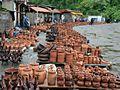 Shrosha (Georgia). A traditional pottery market (Photo A. Muhranoff, 2011).jpg