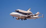 Shuttle Atlantis at Davis Monthan AFB