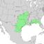 Sideroxylon lanuginosum range map 2.png