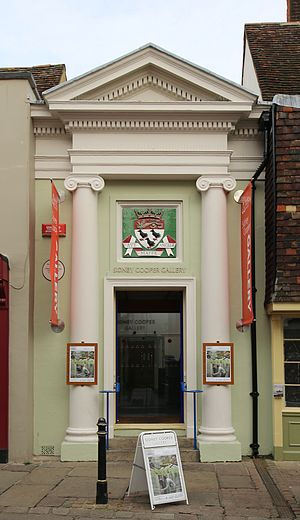 Canterbury Christ Church University - Entrance to the Sidney Cooper gallery