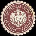 Siegelmarke Bureau des Landtags für Elsass-Lothringen W0209530.jpg