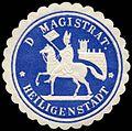 Siegelmarke Der Magistrat - Heiligenstadt W0226290.jpg