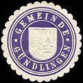 Siegelmarke Gemeinde Gündlingen W0227527.jpg
