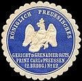 Siegelmarke Gericht des Grenadier-Rgts. Prinz Carl v. Preußen W0281238.jpg