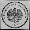 Siegelmarke Königlich Preußisches Landratsamt - Calau W0229044.jpg