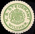 Siegelmarke Königlich Sächsische Steueramt Wilthen W0228928.jpg