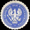 Siegelmarke Königliche Akademie der Wissenschaften W0225576.jpg