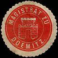 Siegelmarke Magistrat zu Doemitz W0293275.jpg