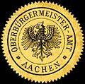 Siegelmarke Oberbürgermeister - Amt - Aachen W0205578.jpg