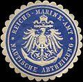 Siegelmarke Reichs-Marine-Amt - Nautische Abtheilung W0313856.jpg