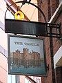 Sign for The Castle, Furnival Street - Norwich Street, EC4 - geograph.org.uk - 1932859.jpg
