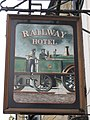 Sign for the Railway Hotel (2) - spot the difference - geograph.org.uk - 829952.jpg