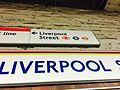 Sign on Liverpool Street Circle line platform.jpg