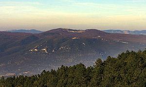 Vaucluse Mountains - Signal de Saint-Pierre in the Vaucluse Mountains.