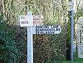 Signpost to Dancing Lane - geograph.org.uk - 652111.jpg