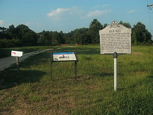 Rich Hill (Bel Alton, Maryland) - Image: Signs at Rich Hill